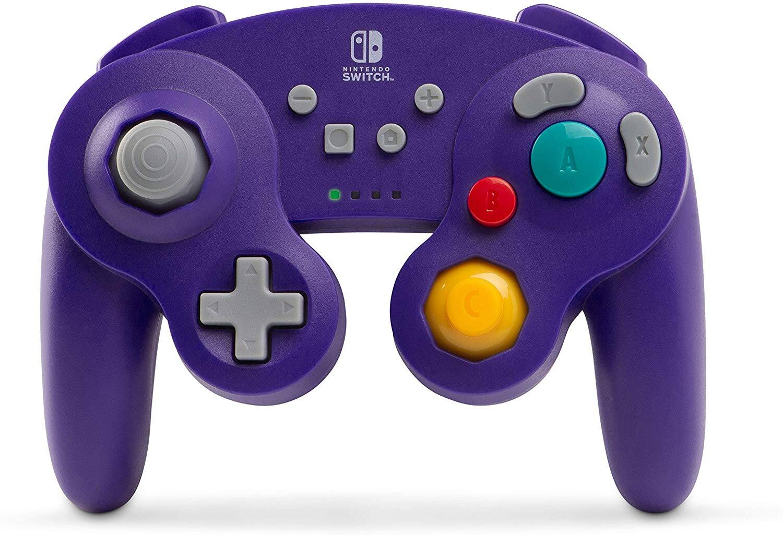 PowerA Wireless GameCube Style Controller for Nintendo Switch - Purple $37