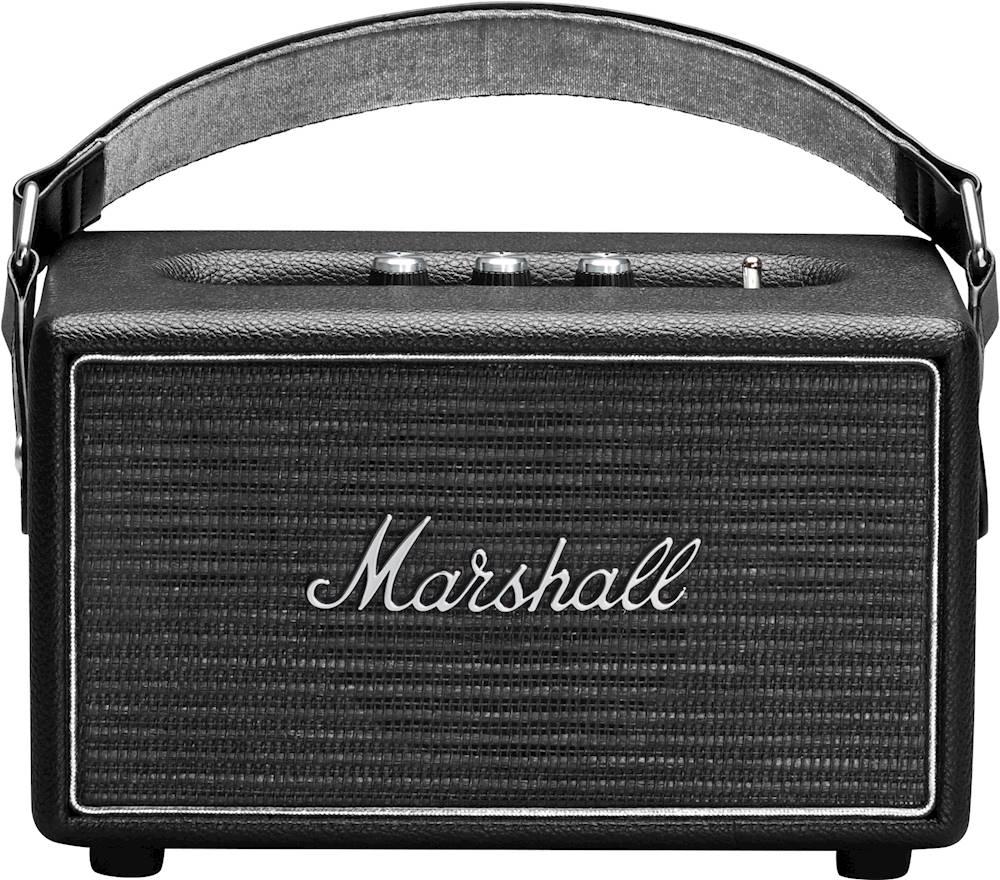Marshall - Kilburn Steel Edition Portable Bluetooth Speaker - Black/Gray $150