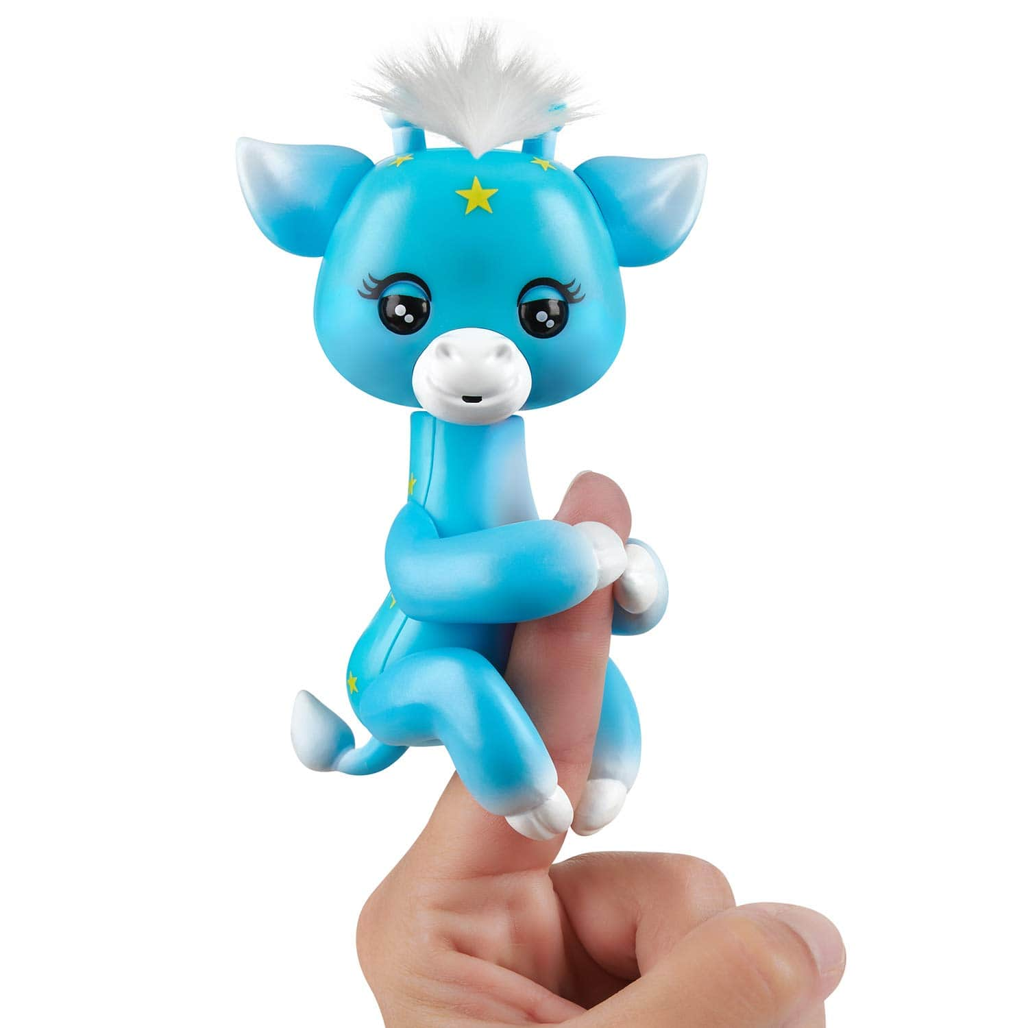 WowWee Fingerlings Baby Giraffe - Lil' G (Blue) - Friendly Interactive Toy $4