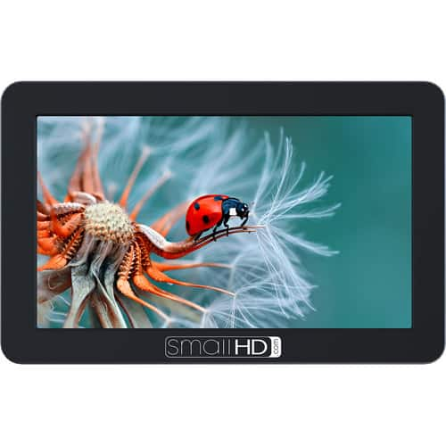 "SmallHD FOCUS 5"" Base HDMI On-Camera Monitor $269.1"
