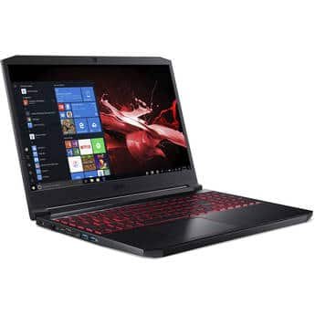 "Acer 15.6"" Nitro 7 Gaming Laptop 2.6 GHz Intel Core i7-9750H Six-Core 16GB DDR4 | 512GB NVMe PCIe SSD  1920 x 1080 IPS Display NVIDIA GeForce GTX 1650 (4GB GDDR5) $799"