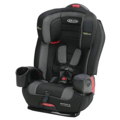 Graco Nautilus 65 3-in-1 Harness Booster Car Seat with Safety Surround - Jacks with Red card $85