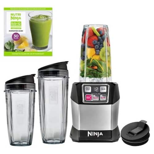 Nutri Ninja Auto iQ Pro Complete Personal Blender BL487T (With Red card only) $57