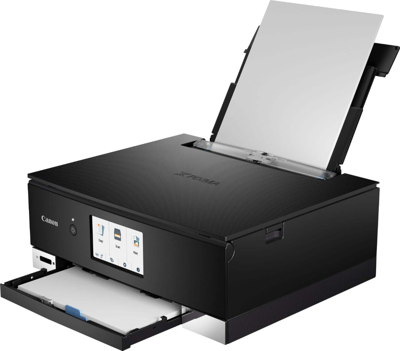 Canon PIXMA TS8220 Wireless All-In-One Printer Black 2987C002 - Best Buy $70