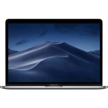 "Apple 13.3"" MacBook Pro with Touch Bar (Mid 2019, Space Gray) -i5/8gb ram/128gb SSD & More on sale $1099"