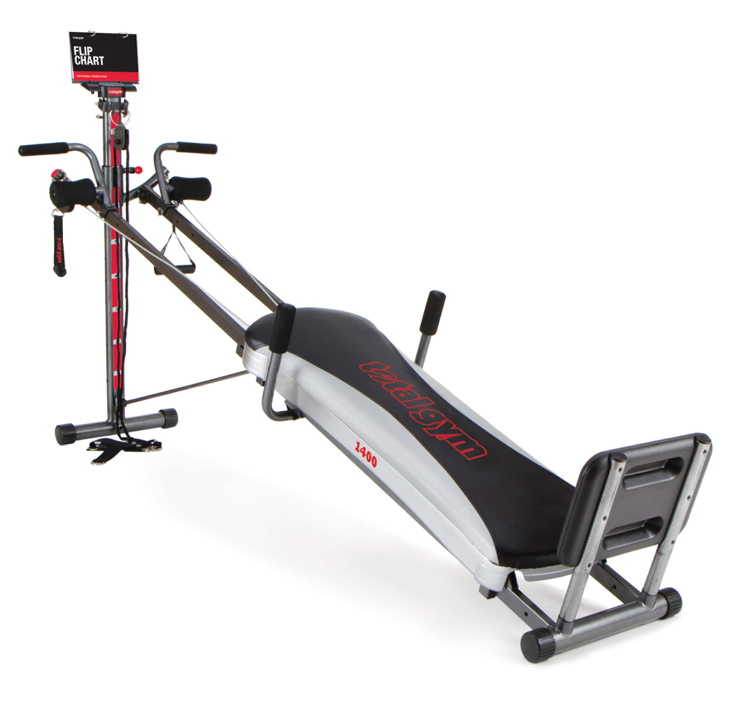 Total Gym 1400 Total Home Gym with Workout DVD - Full Body Workout Machine with 60+ Exercises $195