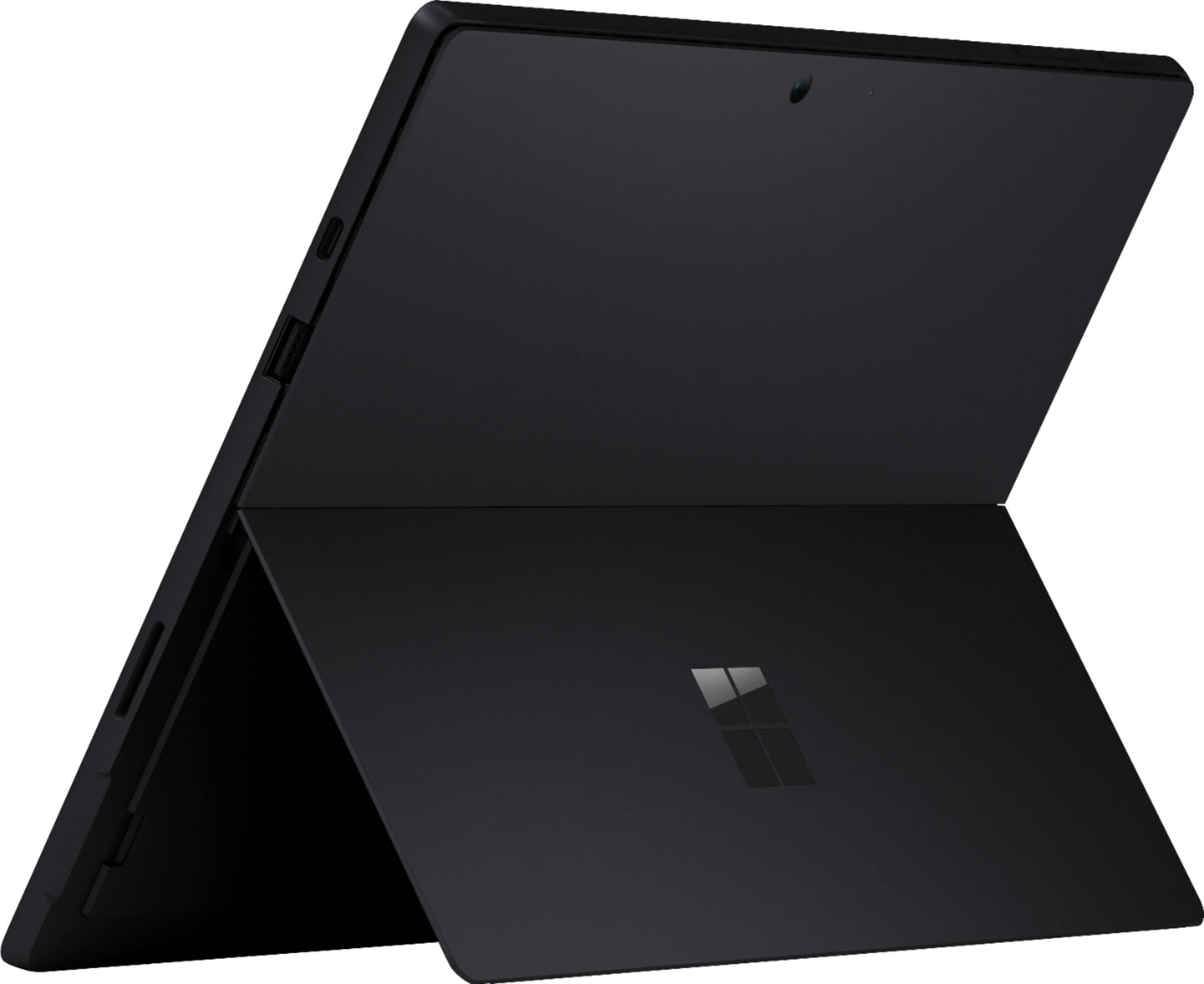 """Microsoft - Surface Pro 7 - 12.3"""" Touch Screen - Intel Core i5 - 8GB Memory - 256GB SSD with Black Type Cover (Latest Model) - Matte Black $999"""