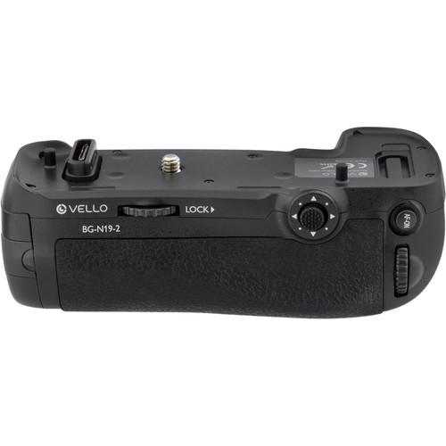 Vello BG-N19-2 Battery Grip for Nikon D850 $69.95