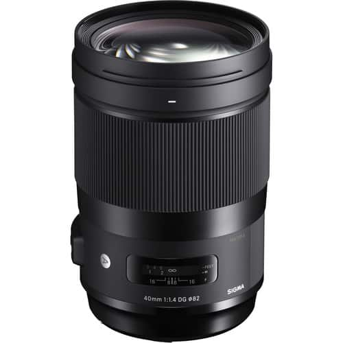 Sigma 40mm f/1.4 DG HSM Art Lens for Canon EF $1000