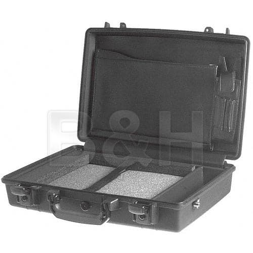 Pelican 1490CC1 Computer Case with Lid Organizer and Tray (Black) $178