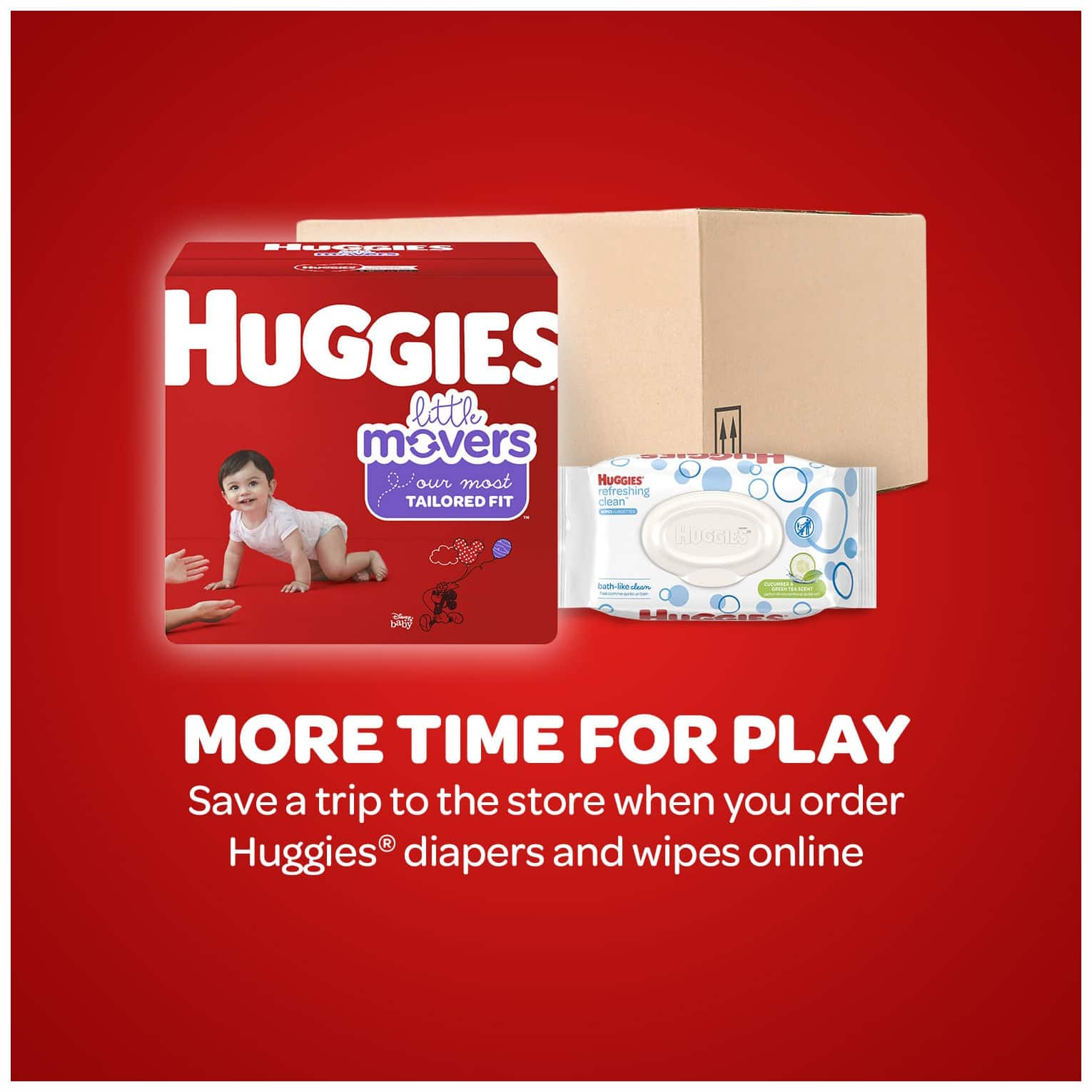 buy 2 huggies little snugglers diapers economy with $25 walmart Giftcard