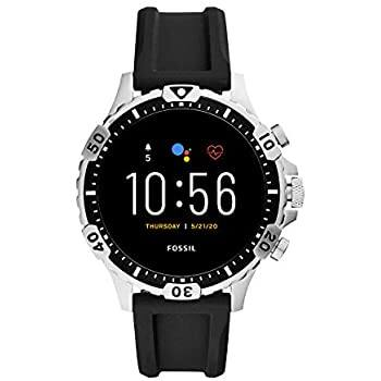 Fossil Gen 5 Garrett Stainless Steel Touchscreen Smartwatch with Speaker, Heart Rate, GPS, NFC, and Smartphone Notifications $170