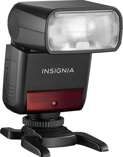 Insignia™ - Compact TTL Flash for Sony Cameras $55