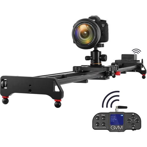 "GVM GT-120WD Wireless Carbon Fiber Motorized Camera Slider (47"") with Bluetooth Remote $329.92"