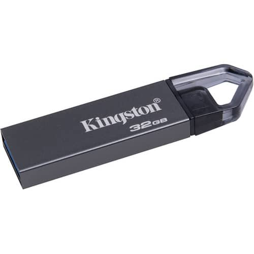 Kingston 32GB DataTraveler Mini Rex USB 3.1 Flash Drive $6.49