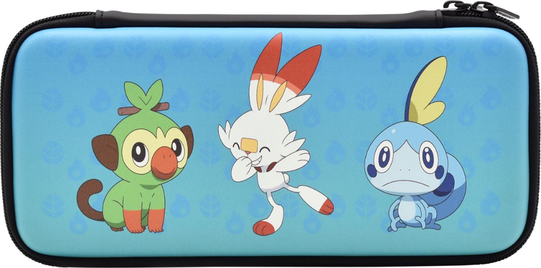 Hori - Pokémon Sword & Shield Hard Pouch for Nintendo Switch - Blue $5 YMMV