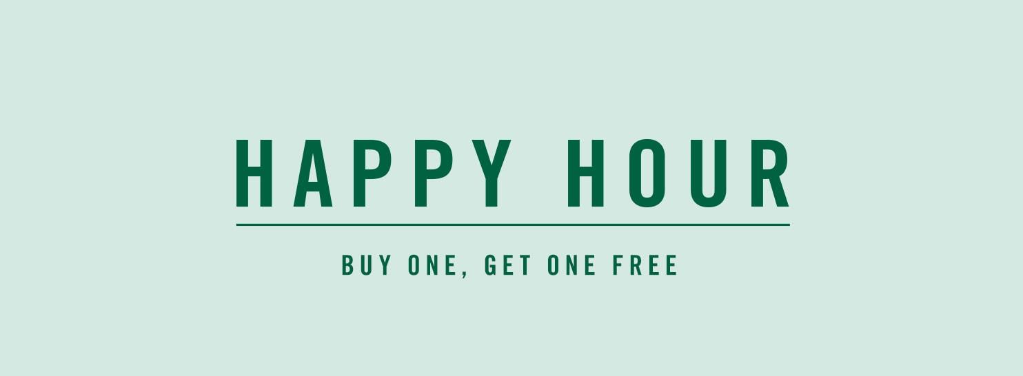 Starbucks Happy Hour 08/20 2-7PM BOGO
