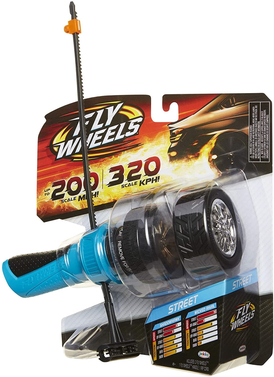 Fly Wheels Launcher + 2 Street Wheels - Rip it up to 200 Scale MPH $3.14