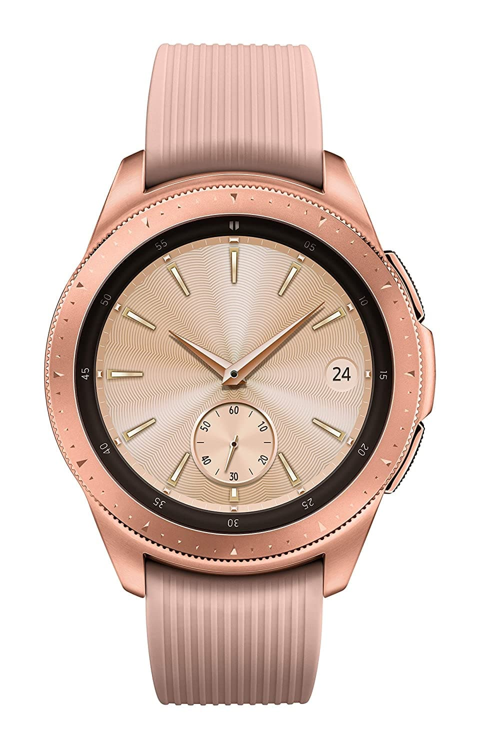 Samsung Galaxy Watch (42mm, GPS, Bluetooth) – Rose Gold (US Version) $169