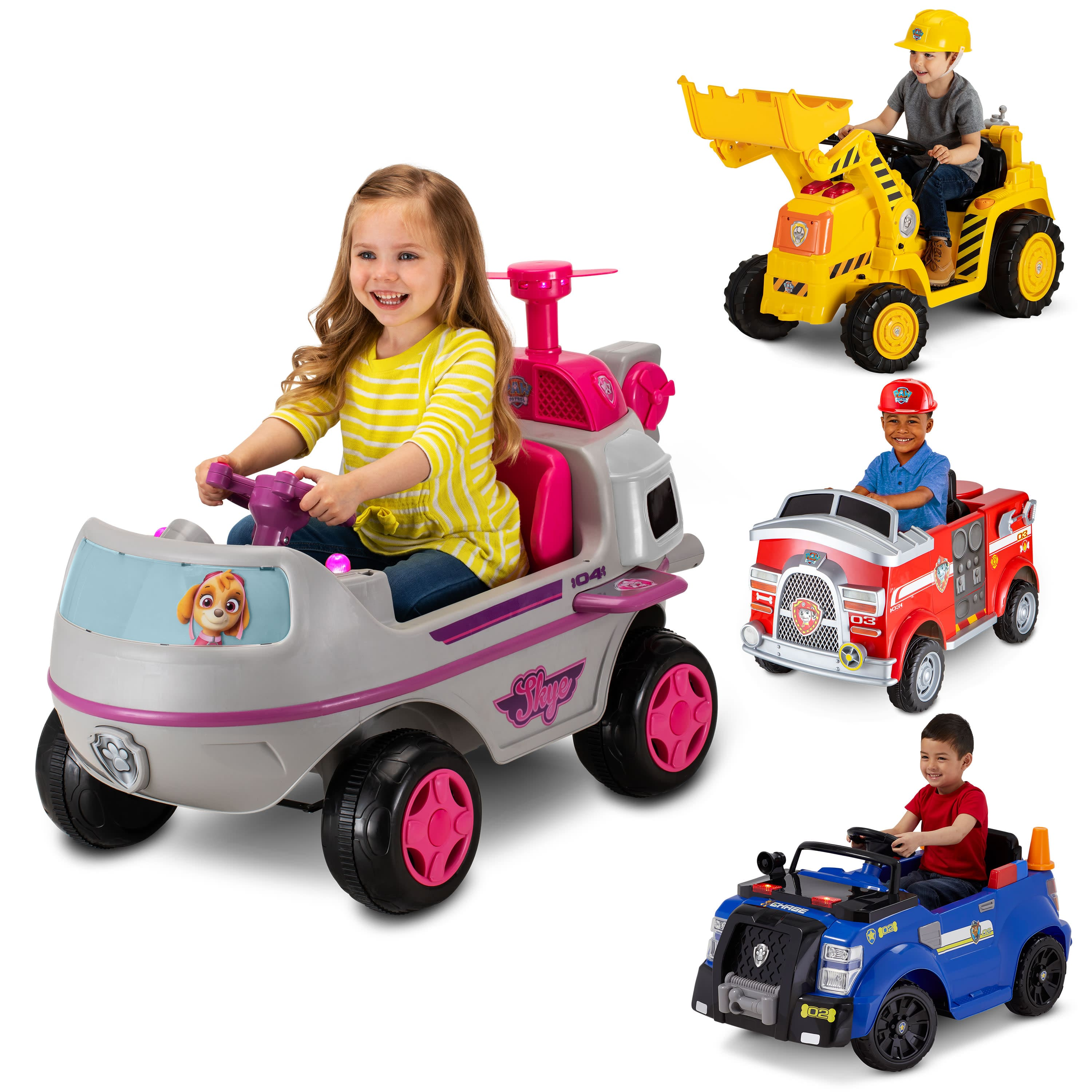 Nickelodeon's PAW Patrol: Skye Helicopter, 6-Volt Ride-On Toy by Kid Trax $78
