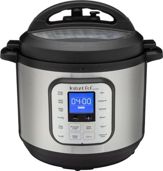 Instant Pot - Duo Nova 8-Quart 7-in-1, One-Touch Multi-Cooker - Silver $70