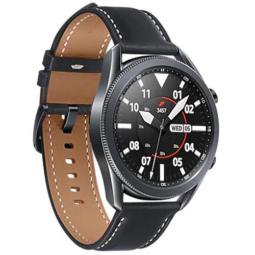 Samsung Galaxy Watch3 GPS Smartwatch (Bluetooth, 45mm, Mystic Black, International Version) $299