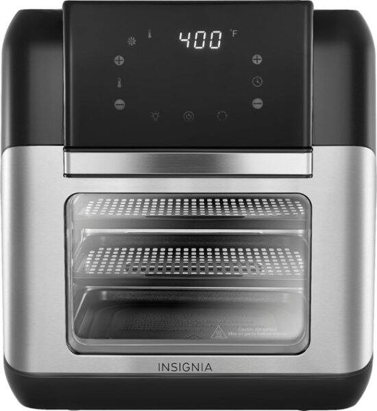 Insignia™ 10 Qt. Digital Air Fryer Oven Stainless Steel NS-AFO6DSS1 - $60