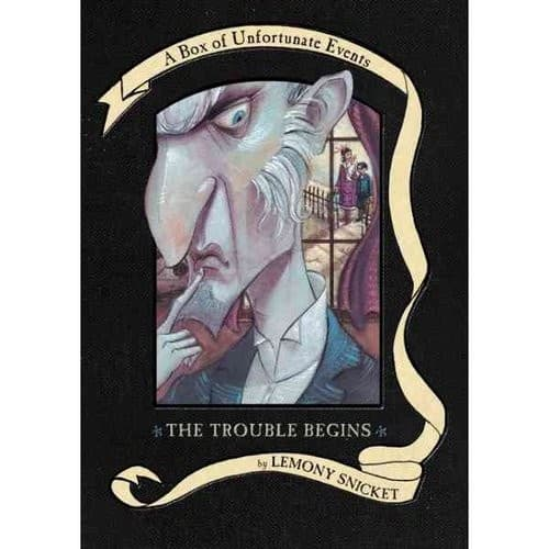 The Trouble Begins: A Box of Unfortunate Events, Books 1-3 (The Bad Beginning; The Reptile Room; The Wide Window) $8.58