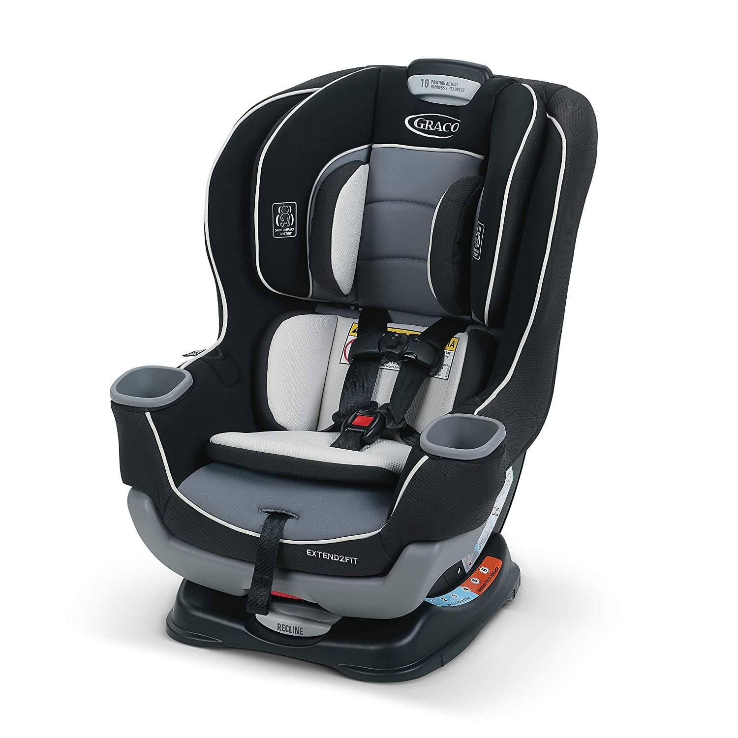 Graco Extend2Fit Convertible Car Seat (Used - Like New) $97.65 + Free Shipping