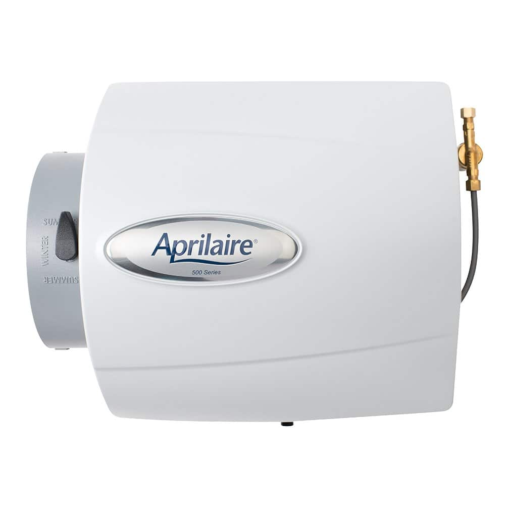 Aprilaire 500M Whole House Humidifier, Manual Compact Furnace Humidifier $102.9