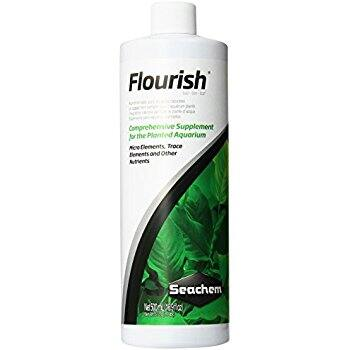 Seachem Flourish 500ml $7.40 supplement for Planted Aquariums