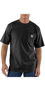 $12.87 Carhartt Men's K87 Workwear Pocket Short Sleeve T-Shirt