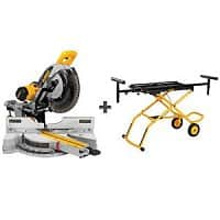 Home Depot Deal: DEWALT 12 in. Sliding Miter Saw with BONUS Rolling Miter Saw Stand ($199 value) - $599 @ HomeDepot.com