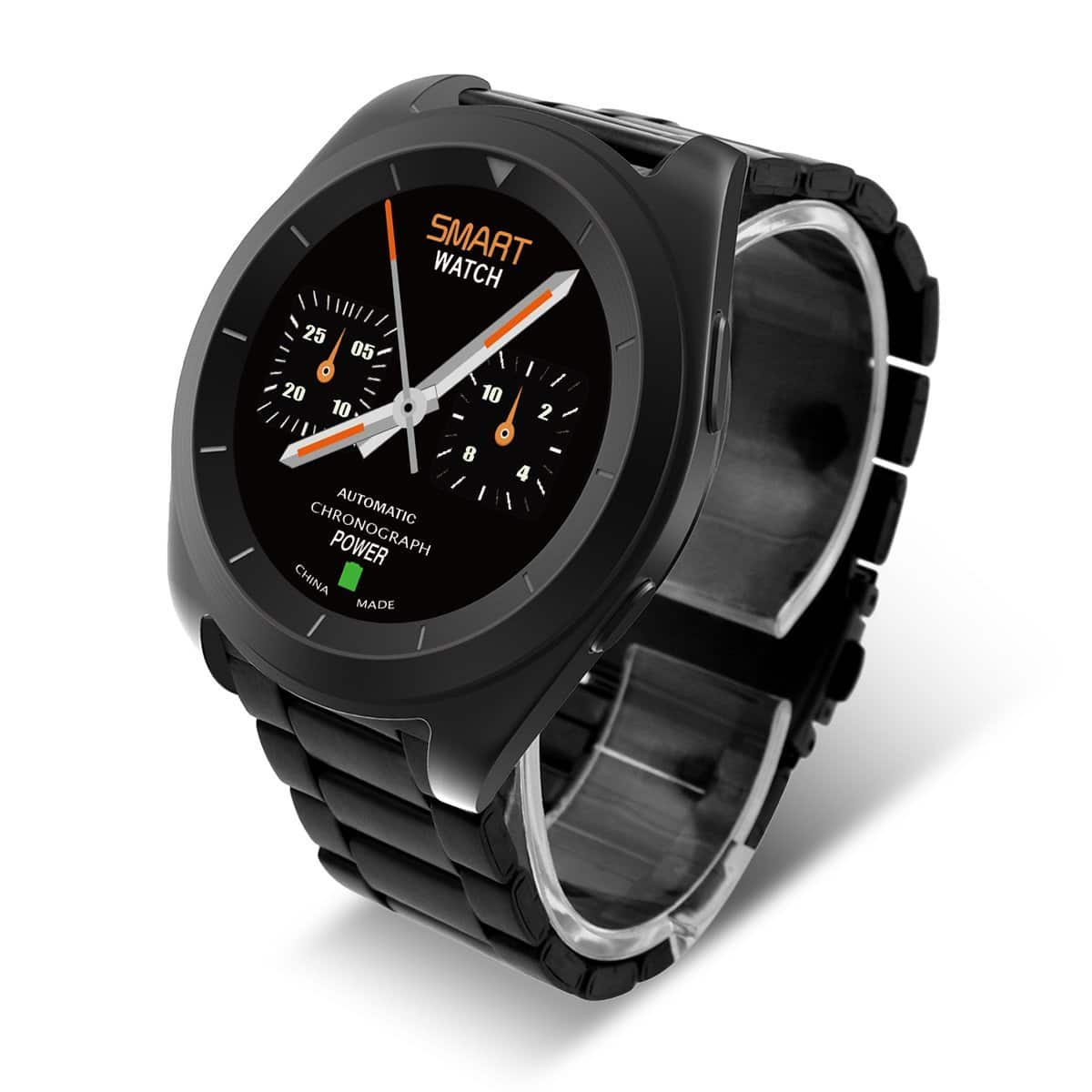 Bluetooth 4.0 PSG Heart Rate Monitor Sedentary Reminder Call/SMS Reminder Smart Watch From $26.39 @ Amazon $28.19