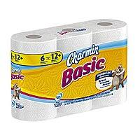 Amazon Deal: 48-Count Basic Toilet Paper, Double Rolls - $8.33 Amazon Add-on item