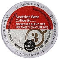 Amazon Deal: 60-Count Seattle's Best Coffee K-Cup, Signature Blend No 3 - $21.76 Amazon Prime