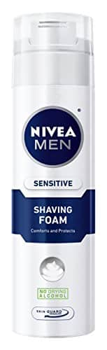 DEAD 3-Pack of 8.7oz NIVEA MEN Sensitive Shaving Foam with Skin Guard - $3.61 w/S&S and coupon, (As Low As - $3.10)