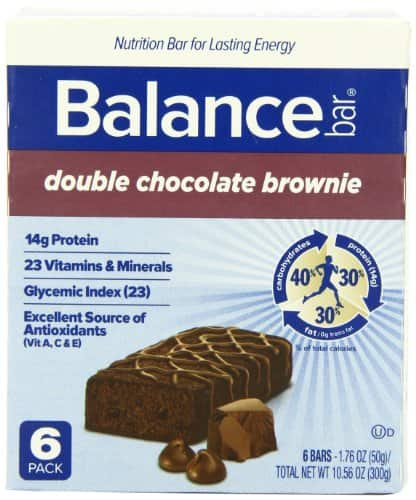 12-Count Balance Bar Double Chocolate Brownie - As Low As $5.88 w/coupon code Promo and S&S