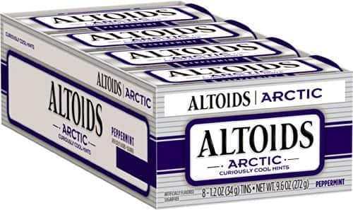 Altoids Artic Mints, Peppermint, 1.2 Ounce (Pack of 8) - $8.53 w/S&S, (As Low As - $7.63)