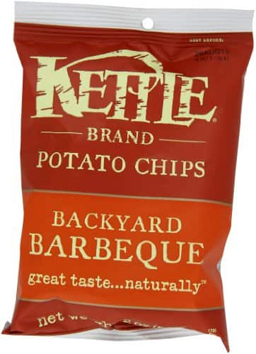 Kettle Brand Potato Chips Caddy, Backyard Barbeque, 2-Ounce Bags, 6 Count - As Low As $3.58 w/S&S