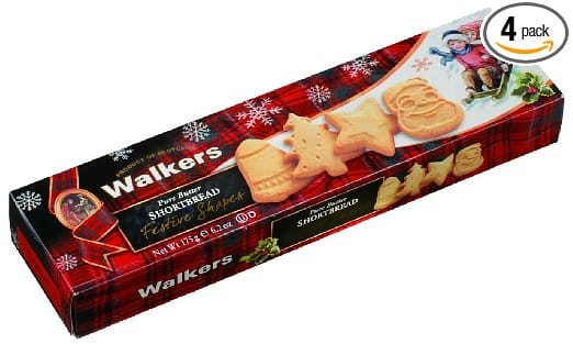 Walkers Shortbread Festive Shapes, 6.2-Ounce Boxes (Pack of 4) - $5.32 w/S&S, (As Low As - $4.76)