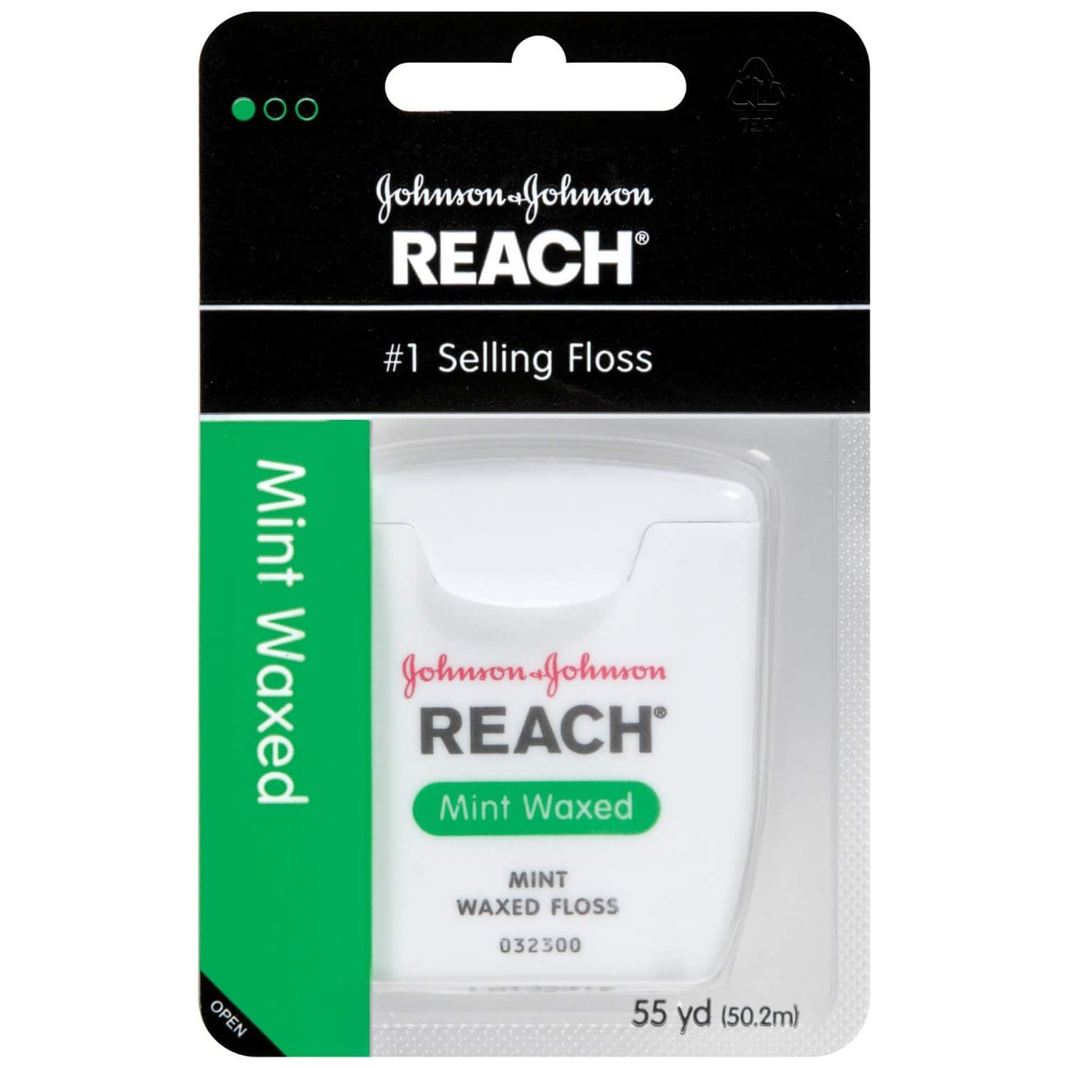 Reach Mint Waxed Dental Floss, 55 Yards (Pack of 6) - $5.70 w/S&S, (As Low As - $5.10)