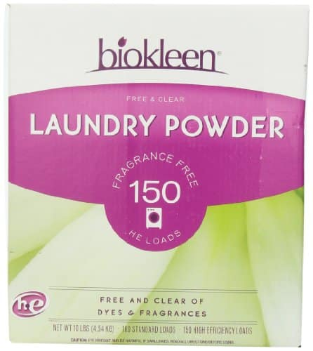 Biokleen Laundry Powder, Free & Clear, 10 Pounds- $8.32 w/S&S and coupon, (As Low As - $7.21)