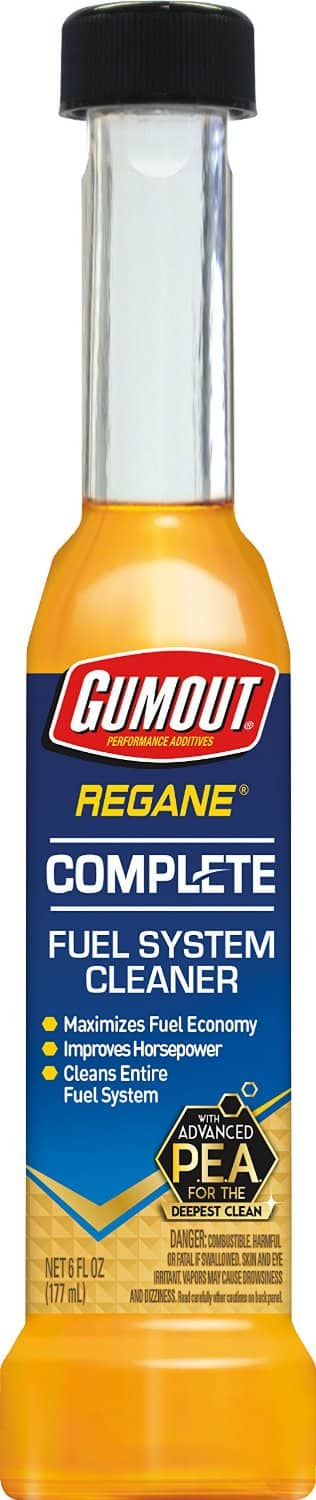 Gumout Regane Complete Fuel System Cleaner, 6 ounce - $1.59 w/S&S, (As Low As - $1.42)