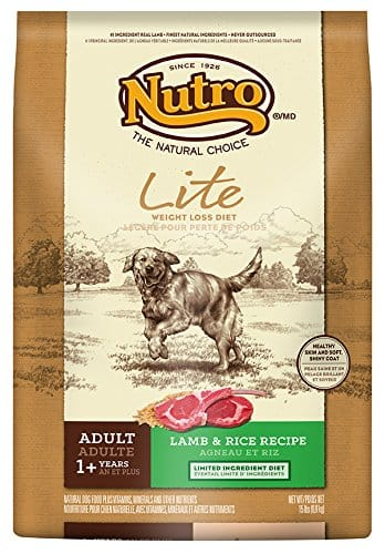 15-lbs, NUTRO Lite, Weight Loss Dry Dog Food, Lamb and Rice - $8.22 w/S&S and coupon, (As Low As - $7.62)