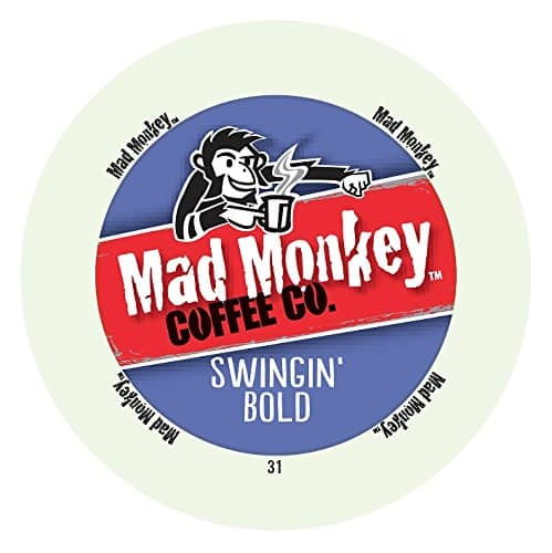 48-count, Mad Monkey Coffee Capsules, Swingin Bold - $13.16 w/S&S and coupon, (As Low As - $10.97)