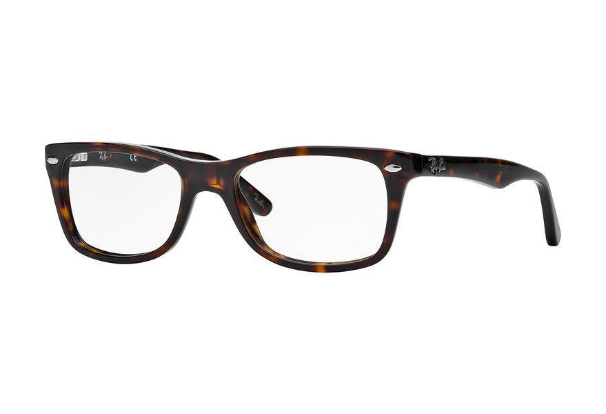 7cf634339502 Ray Ban Eyeglasses RX5228 2012 50MM Dark Havana Plastic Frame 50mm  49.99  Ebay  50