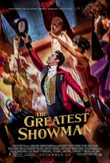 Atom Tickets B1G1 The Greatest Showman