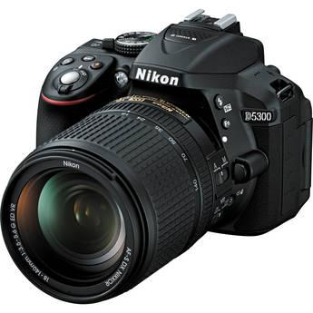 Nikon D5300 DSLR Camera w/Nikon 18-140mm Lens - Black $655