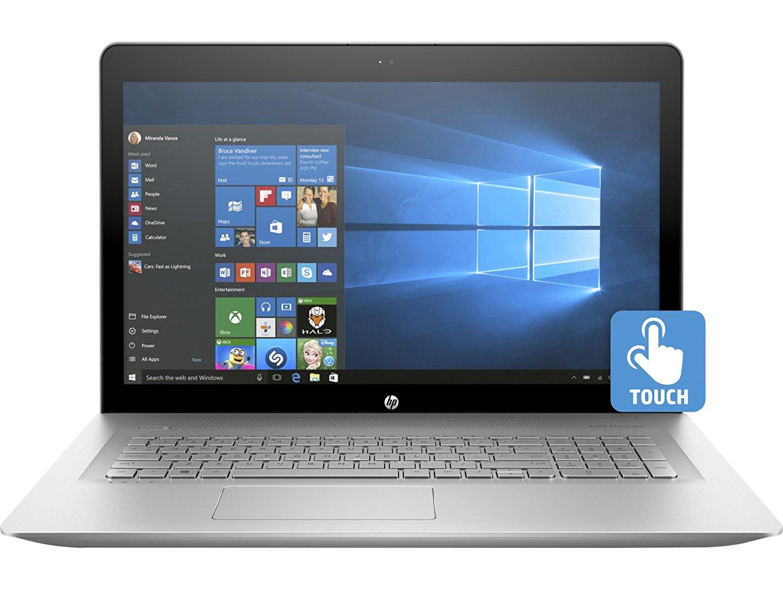 Flagship HP Envy 17.3 Full HD IPS Touchscreen Laptop - Intel Dual-Core i7-7500U Up to 3.5GHz, 16GB DDR4, 512GB SSD $1149